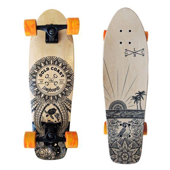 62 Mandala Art Cruiser Skateboard 28 Inspired In 2020 Skateboard Skateboard Design Cruiser Skateboards