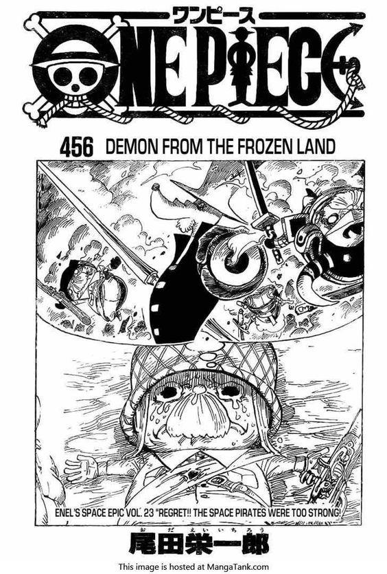 One Piece Manga ch.456 Page 1
