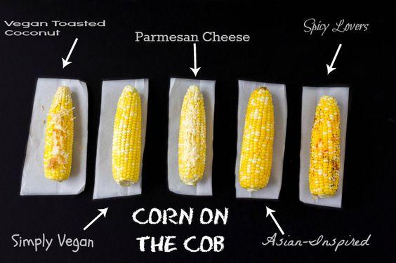 Corn on the Cob Recipes 5 Ways