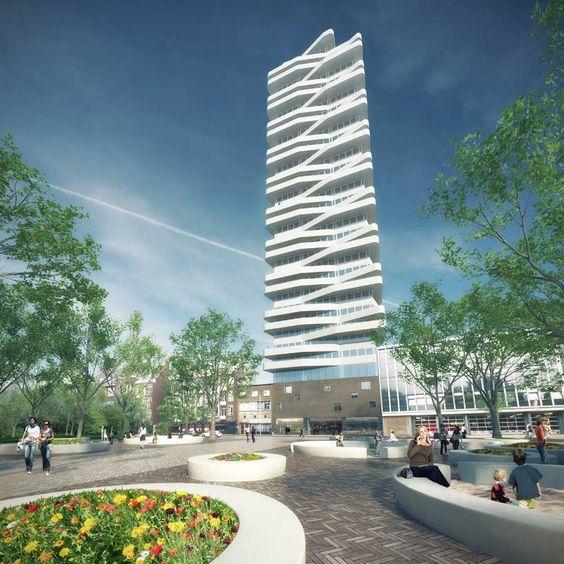 cool tower in rotterdam, casanova-hernandez architekten http://www.casanova-hernandez.com/