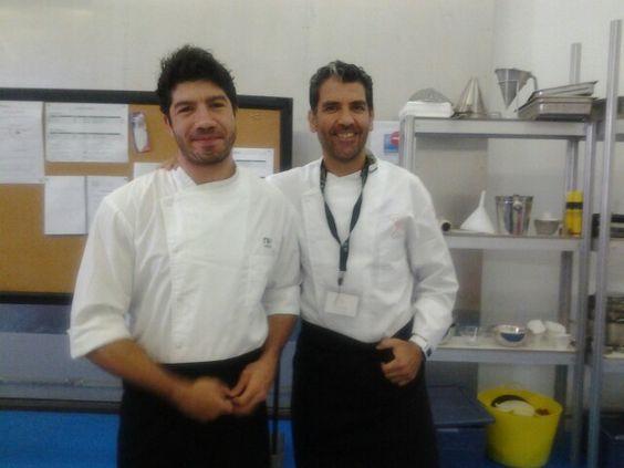 Con Paco Roncero en Andalucia Sabor 2013