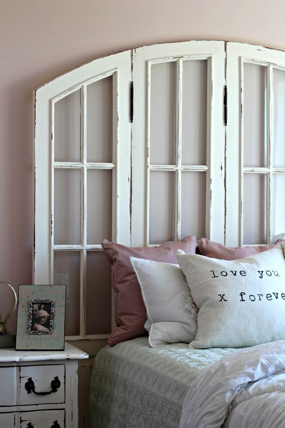 Window headboard: