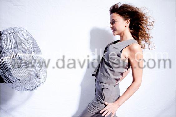 Sandrine Quétier par David Ken #quetier