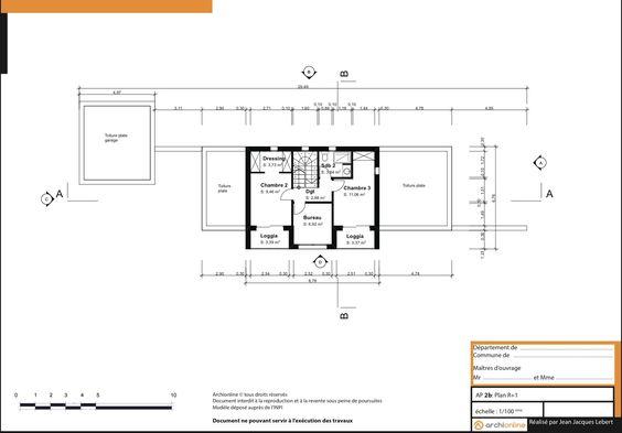 plan-r1jpg (1300×908) Construction Pinterest Construction