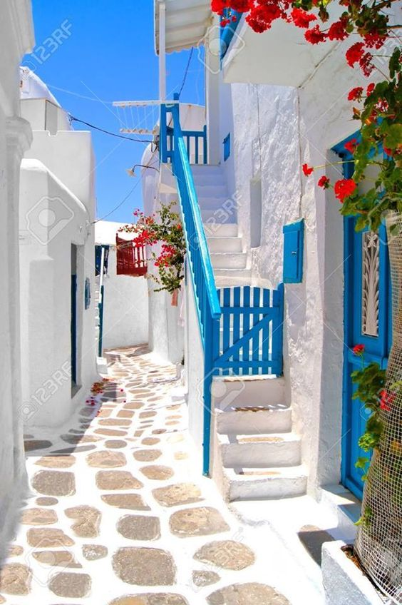 Fresh Blue & White - Greece