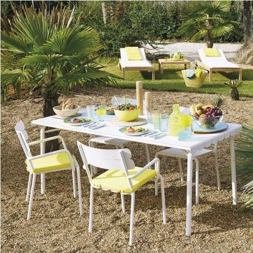 Cabana Grande Table De Jardin En Aluminium Deco Table