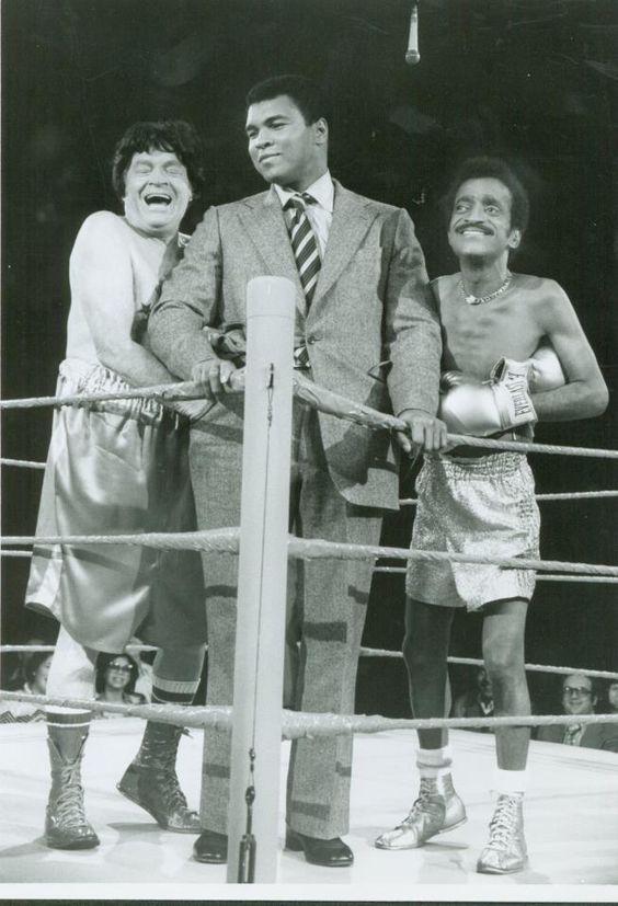 Bob Hope And SammyDavis Jr. with/Muhammad Ali   1970s: