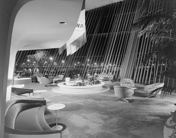 ArtChist: Terminal TWA Aeropuerto JFK en New York | Eero Saarinen