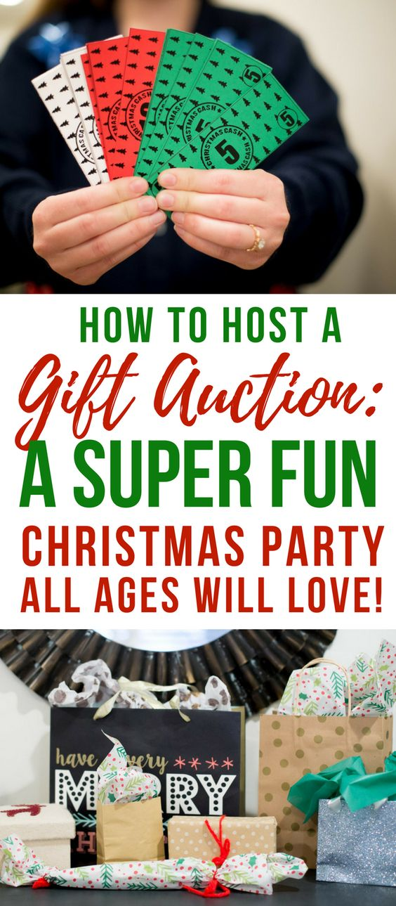 Christmas Party Gift Auction- Christmas Party Game Idea-White Elephant Exchange Ideas