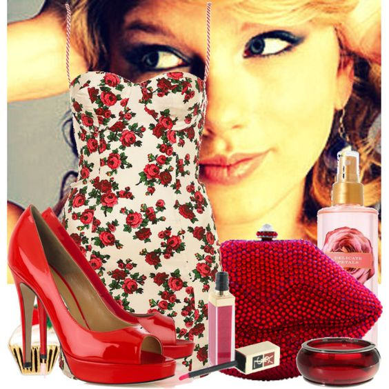 Taylor Swift, created by karineminzonwilson on Polyvore