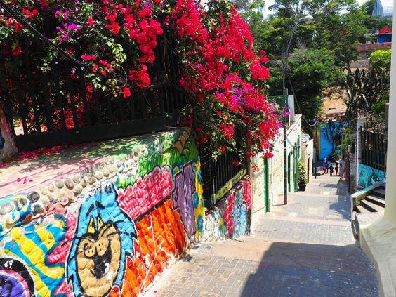 The cool bohemian district of Barranco in Lima, Peru.