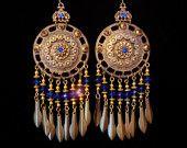 Chandelier Earrings - Kerala on Etsy $34.00