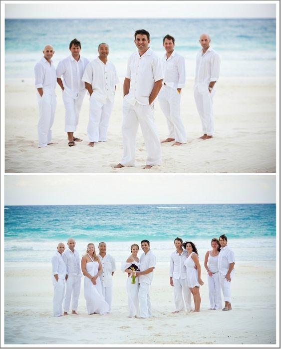Beach Wedding Outfit Ideas: Mens Beach Wedding Attire Ideas Black Is Not So Suitable