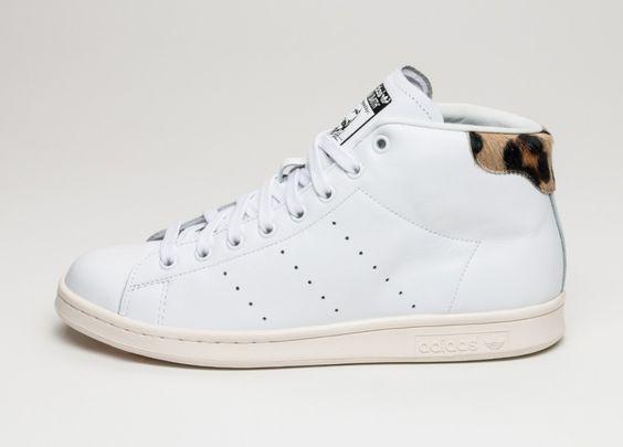 adidas Stan Smith Mid (Ftwr White / Ftwr White / Chalk White)