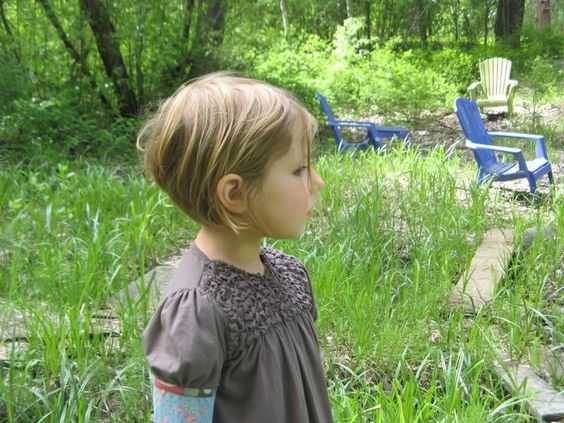 little girl pixie cropped bob haircut - Google Search