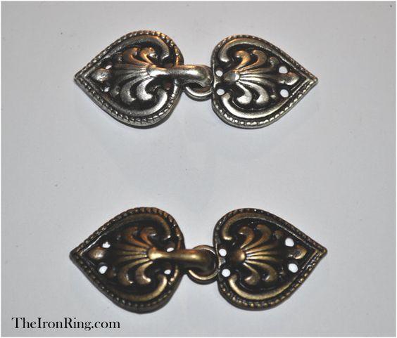 Image result for leaf cloak clasp