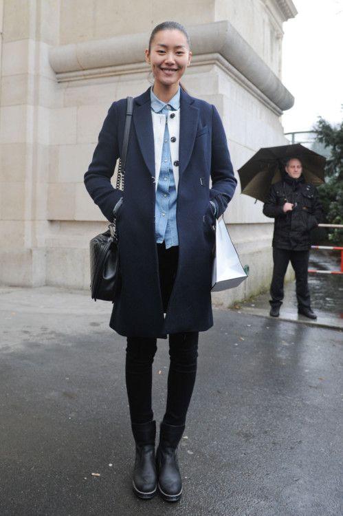 Fashion Week Street Style: Liu Wen | The Front Row View