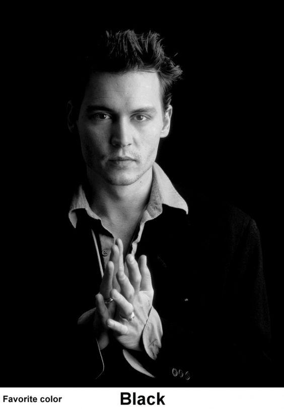 Johnny Depp---talented actor