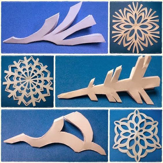 Ella en Louis: DIY Paper Snowflakes: