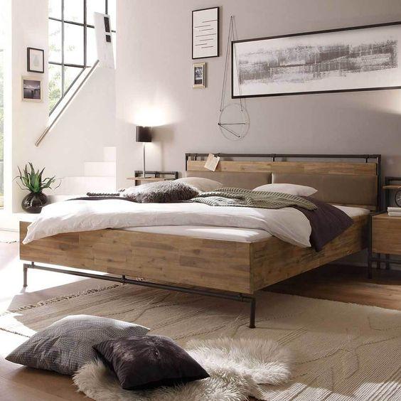 Die besten 25+ Metallbett 180x200 Ideen auf Pinterest Metallbett - schlafzimmer mit metallbett