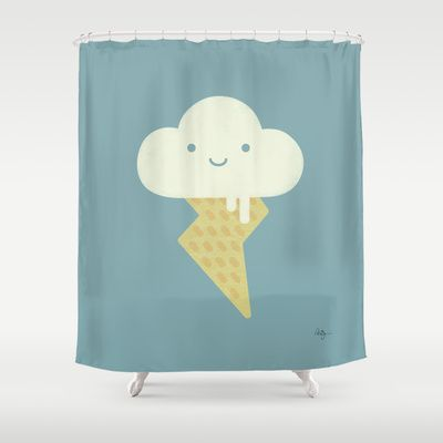 Stormy and Sweet Shower Curtain by Phil Jones - $68.00