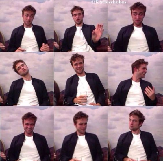 Robert pattinson faces