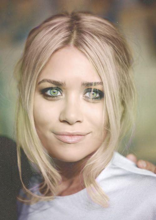 Ashley Olsen eye makeup