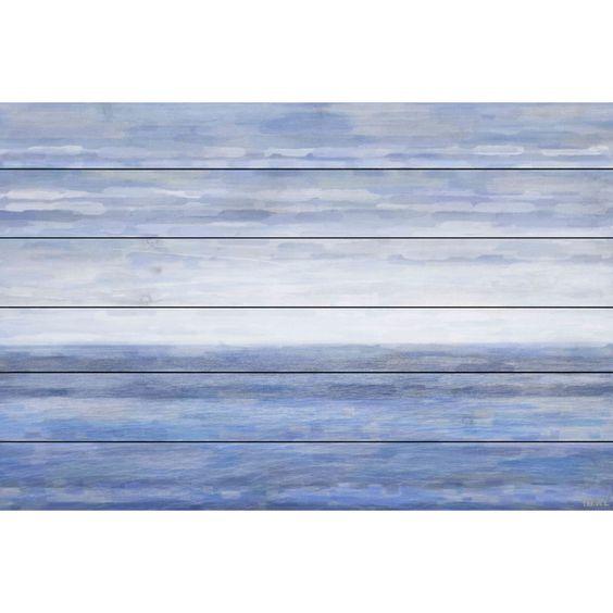 The Ocean Painting Print Plaque