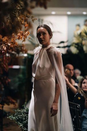 wedding dresses,  covid-wedding, micro wedding, elopement, bridal cape