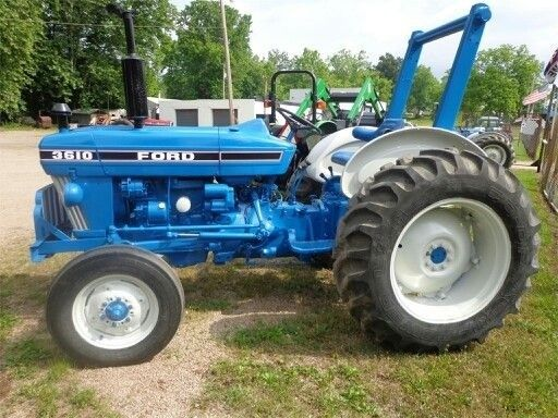 Ford 3610 82 83 47 Hp Tractors New Holland Ford News