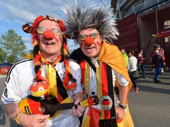 Die deutschen DFB-Frauen bekommen bei der EM in Schweden von vielen deutschen Fans Unterstützung. (Foto: Carmen Jaspersen/dpa)