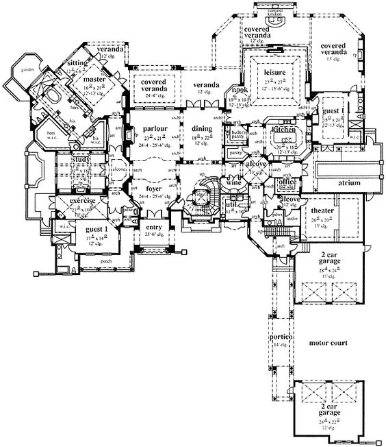 House Plans House And Design On Pinterest