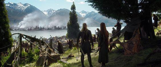 TAURIEL E LÉGOLAS HD | Der Hobbit: Die Schlacht der fünf Heere