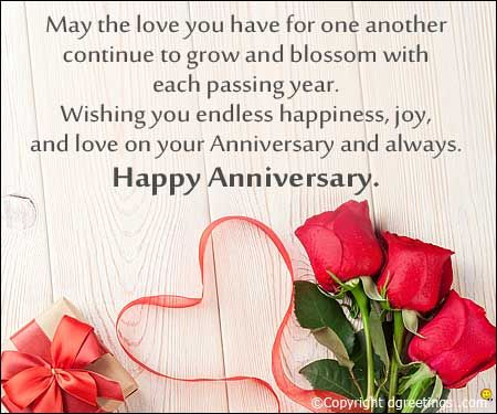 May the love you have for one another  Anniversary wishes quotes