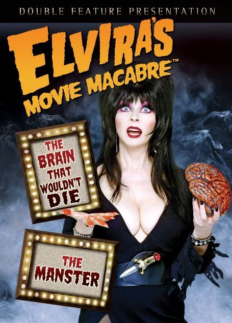 Elvira's Movie Macabre ~ The Brain That Wouldn't Die and The Manster