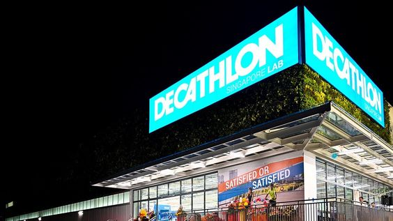 Decathlon Singapore Lab At Kallang Decathlon Singapore Exterior Design