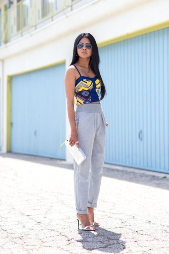 Simple but Impressing Grey T-Shirt Outfits0391