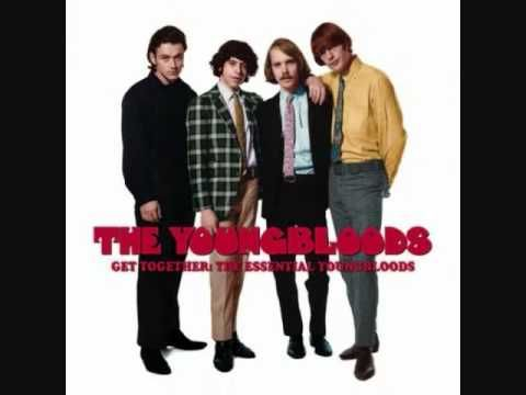 The youngbloods quot get together quot w lyrics video music pinterest