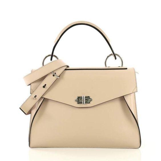 Proenza Schouler Hava Pink Leather Handbag Proenzaschouler Ssatchelpurses Cheap Leather Handbags Pink Leather Handbags Trending Handbag