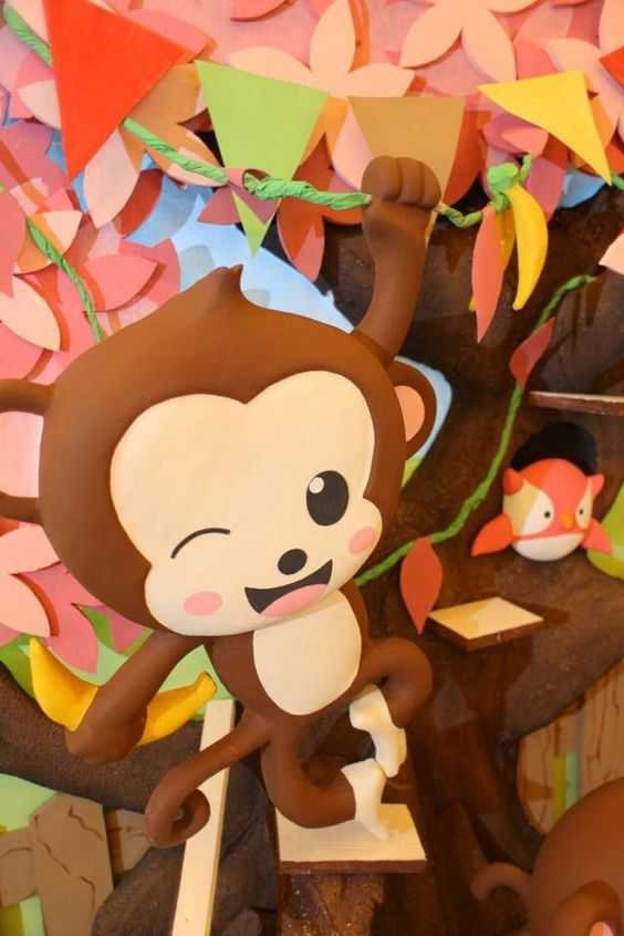 Monkey Party | I Love Banana's Party | Dream Flavours Celebrations #dreamflavours