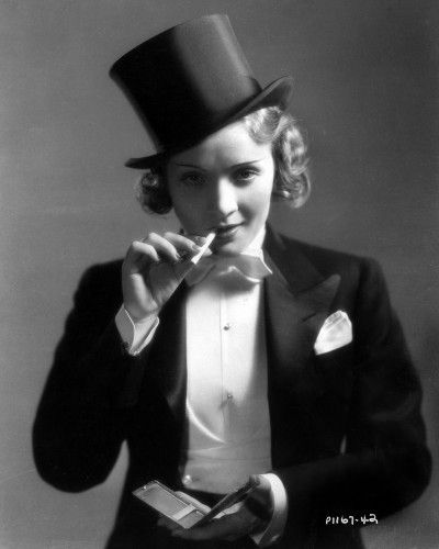 "Marlene Dietrich in ""Morocco,"" 1930. Photo courtesy of Photofest"