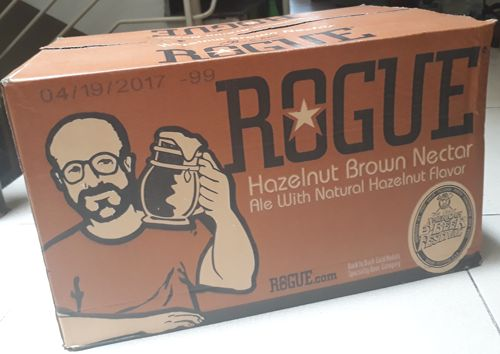 Bia Rogue Hazelnut Brown Nectar 6% - Chai 330ml