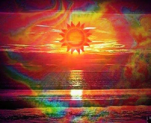 ➳➳➳☮American Hippie Art - Trippy