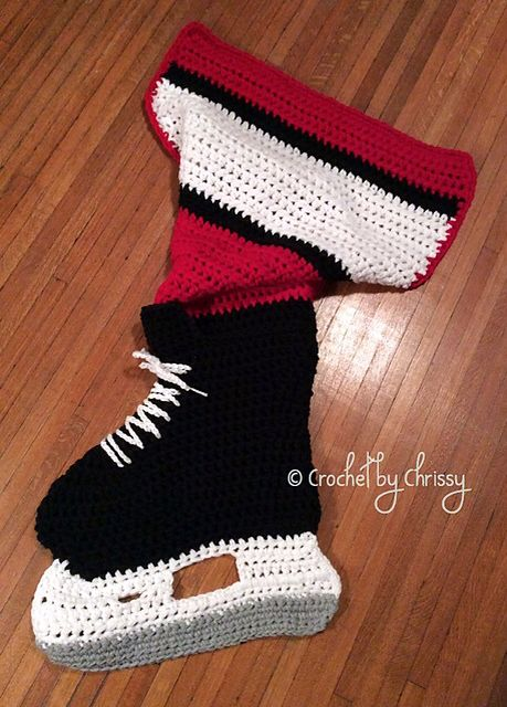 Hockey Knitting Patterns : Hockey, Blanket crochet and Blankets on Pinterest