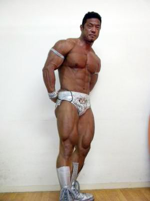 Motoyuki Sakabe 堺部 元行 Japanese Bodybuilder