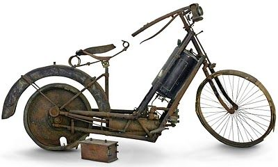 A Mota mais antiga do mundo!  The oldest bike in the world!