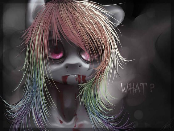 Image result for horror mlp pics