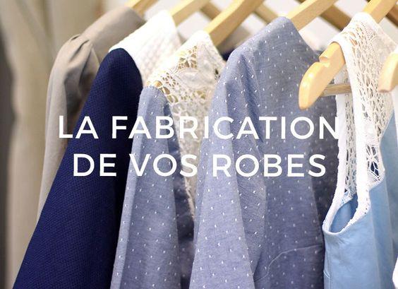 Découvrez les dessous de la confection des robes personnalisées et made in France de Ma Robe et Moi !