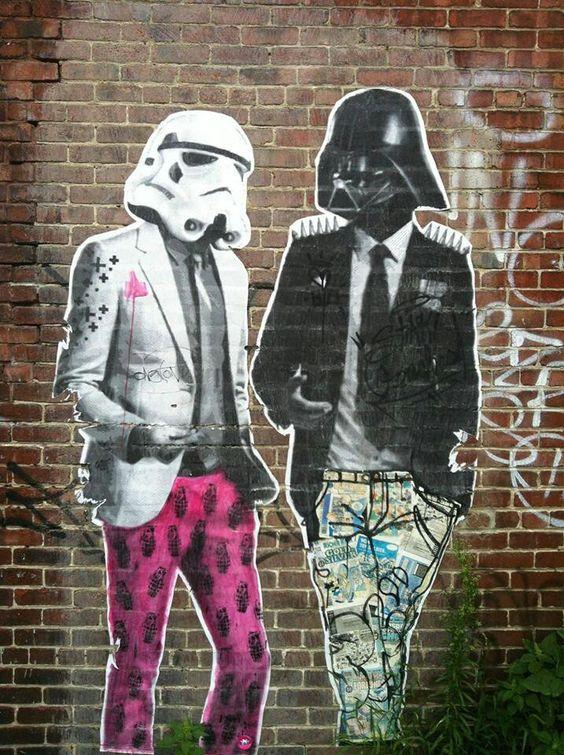 Pinterest the world s catalog of ideas for Daft punk mural