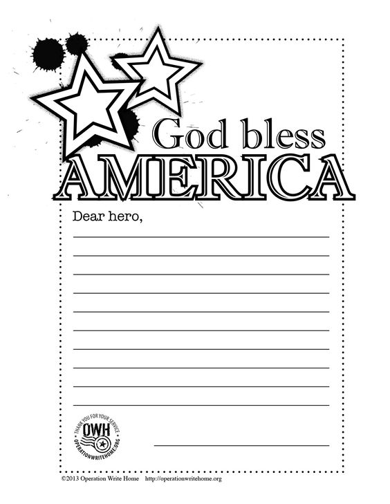 military coloring pages iraq | Operation Write Home-GodBlessC | Printables | Pinterest ...